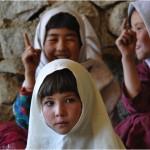 Students in class at Salman e Fars school