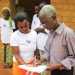 Dr Saadi and Kokolopori clinic staff &copy: TBC
