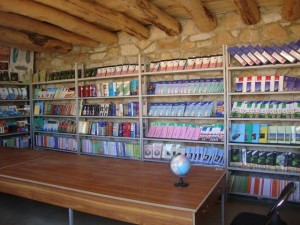 School library of Kushkak, Borjegai © Salman Jan