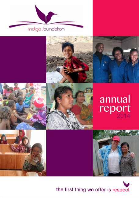 Annual report - cover