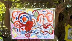 Rote painting small
