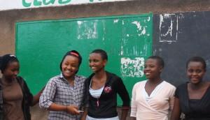 Girls at Cluib Rafiki_EOFY