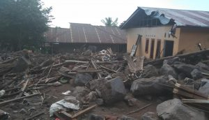 Landslides and flooding destroyed houses, infrastructure and PEKKA NTT's community centre on Lembata Island (2)